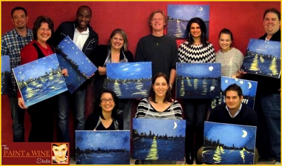 paint and wine class